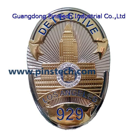 La Detective Badge